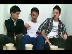 6 videos of 2 twinks seducing a Japanese straight man