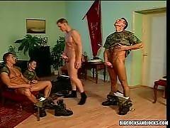 Army Studs Fuck Each Others Hot Asses After Cock Sucking!. Sergio Foster
