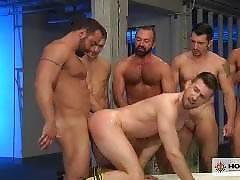 Pack Attack 7: Troy Daniels, Scene #03. Fabio Stallone, Josh West, Troy Daniels, Jimmy Durano , Trenton Ducati, Ty Roderick