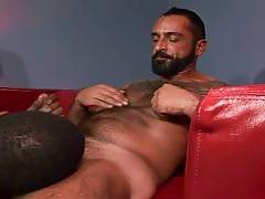 Lance Kincaid and Tom Colt are matured gay hotties that are about to pair of for a steamy interracial scene. You will find these hunks in bed admiring each others muscled bods while Lance goes down on Tom to suck his cock.. Lance Kincaid Tom Colt