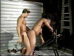 GayPornInterracial - Watch these macho guys unleash their inner cravings for each others hot bodies. Watch good looking Jeremy go wild and seduce his black gym buddy. Check out their buffed bodies as they take off their clothes and pleasure each others ha