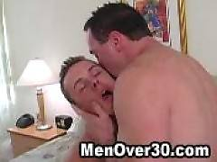 Sweaty sex with older men