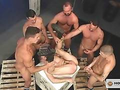 Pack Attack 7: Troy Daniels, Scene #04. Fabio Stallone, Josh West, Troy Daniels, Jimmy Durano, Trenton Ducati, Ty Roderick