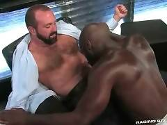 Race Cooper Acts For White Daddy Josh West 3