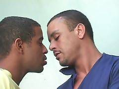 Luis and Gomez are the type of guys that just go with the flow. Luis hits it off with Gomez and goes to work warming up the cock with his mouth. Luis performs a hot oral and opens his buttcheeks wide to have it rammed with Gomezs dick.. Luis De Pavla Gome