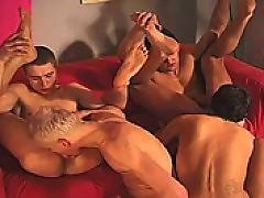 These twinks can't bend over fast enough they are so eager to get fucked up their tight virign asses by their school buddies!