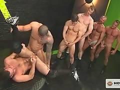 Pack Attack 4: Parker Perry, Scene #3. Alexsander Freitas, Josh West, Tristan Jaxx, Tyler Saint, Blake Daniels , Parker Perry