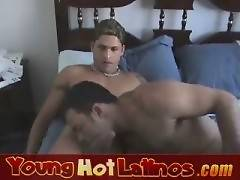 Young and horny Latino boys Sebastian and Brad love gay sex