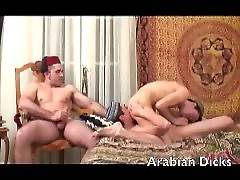 Huge Dick Arab Group Sex