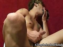 gloryholes and handjobs - Chase Evans